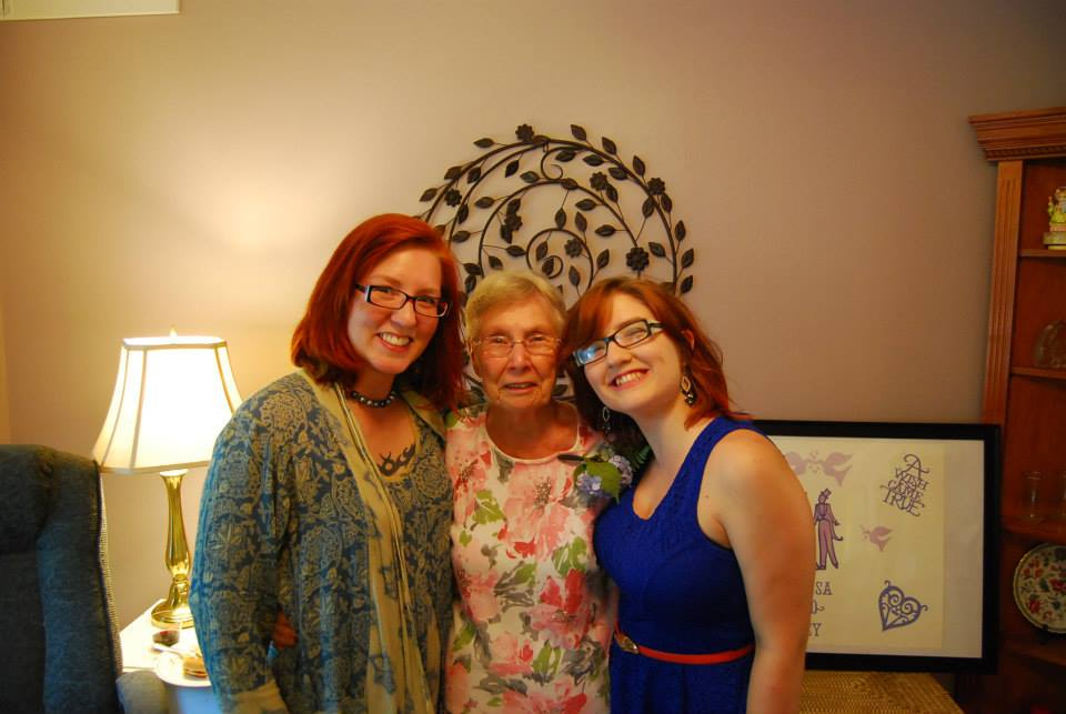 Audette grandmom and ember
